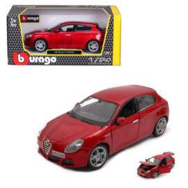 Alfa Romeo Giulietta red modell autó 1:24
