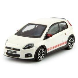 Fiat ABARTH Grande Punto white modell autó 1:43