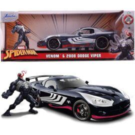 Marvel Venom & Dodge Viper szett modell autó 1:24