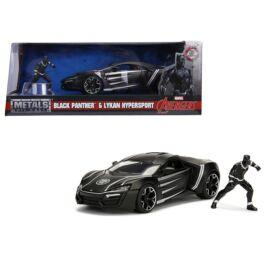 Black Panther & Lykan Hypersport szett modell autó 1:24