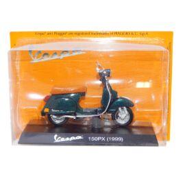 Vespa 150PX (1999) green modell  1:18