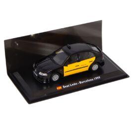 TAXI Seat León - Barcelona 1999 black/yellow modell autó 1:43