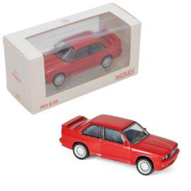 BMW M3 E30 Jet car display red modell autó 1:43