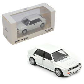 Lancia Delta HF EVO Jet car display white modell autó 1:43