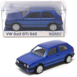 1990 VOLKSWAGEN Golf GTI G60 blue metallic modell autó 1:43