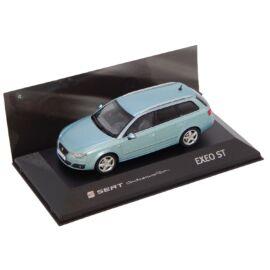 Seat Exeo ST Nayara Blue Dealer packaging modell autó 1:43