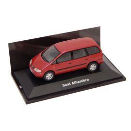 Seat Alhambra red Dealer packaging modell autó 1:43