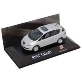 2004-2009 Seat Toledo Luna Grey Dealer packaging modell autó 1:43