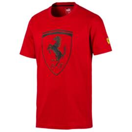 Puma Ferrari póló piros Rosso Corsa 2020