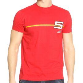 """Ferrari férfi póló """"Alonso 5"""""""