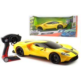 """Ford GT """"sárga"""" R/C távirányítós autó 1:6 méretarány"""