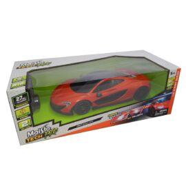 McLaren P1 orange/black R/C távirányítós autó 1:14