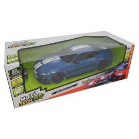 Ford Shelby GT350 kék/fehér R/C távirányítós autó 1:14