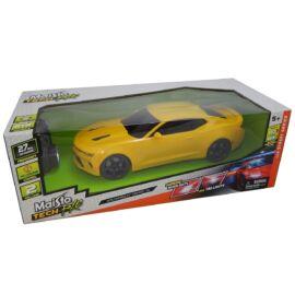 2016 Chevrolet Camaro SS sárga R/C távirányítós autó 1:14