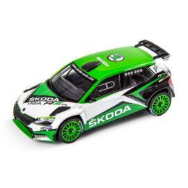 Skoda Fabia R5 Show car 2019 modell autó 1:43