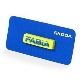 Skoda Fabia kitűző
