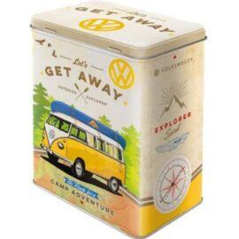 """Volkswagen fémdoboz """"Let's get away"""""""