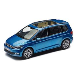 Volkswagen Touran 2015 modell autó 1:43 caribbean blue metallic