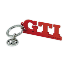 "VW GTI since 1976 kulcstaró ""piros"""