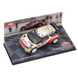 Citroen DS3 WRC #1 S.Loeb-D.Elena 2013 modell autó 1:43