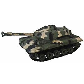 BATTLE TANK R/C távirányítós tank zöld 24 cm