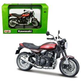 Kawasaki Z900RS fekete/barna/piros modell 1:12