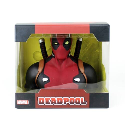 """DEADPOOL""""DELUXE BUST BANK"""" mellszobor persely 22cm"""