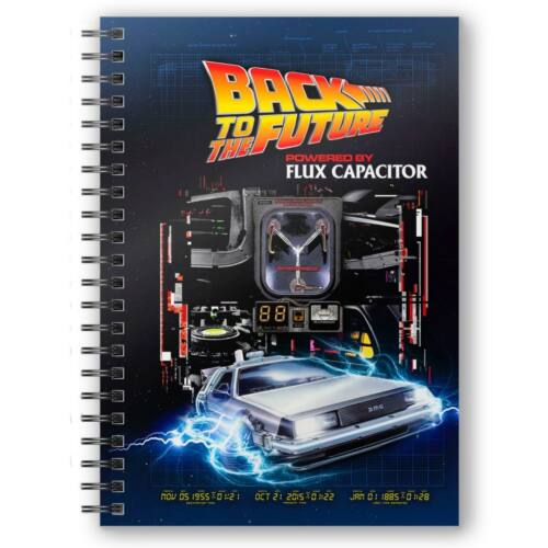 Back to the Future fluxus kondenzátor, Delorean jegyzetfüzet