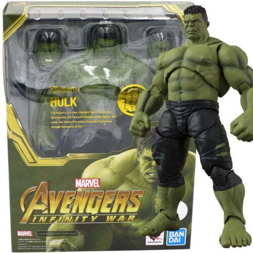 Bandai Tamashii S.H.Figuarts Marvel Avengers Infinity War Hulk A. figura 21cm