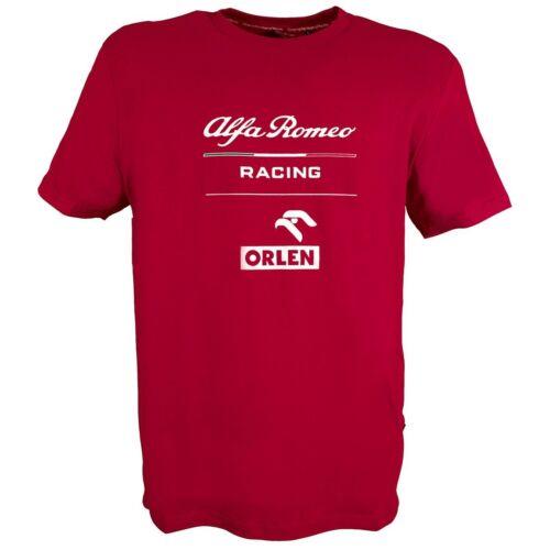 Alfa Romeo Racing férfi póló, Essential 2020, piros