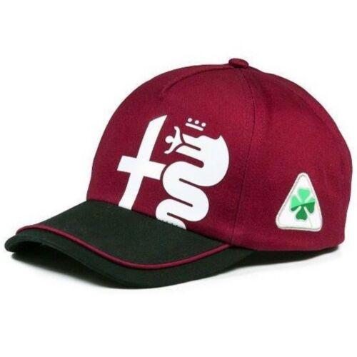 Alfa Romeo Racing baseball sapka, Tribute 2020, sötét piros