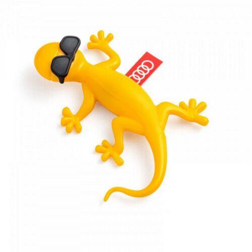 Audi napszemüveges gekko illatosító sárga /gyümölcsös, egzotikus illat/