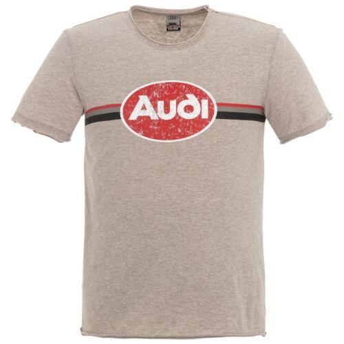 Audi férfi póló, Heritage 2020, bézs