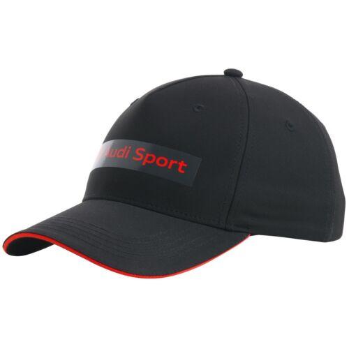 Audi Sport baseball sapka 2020, fekete-piros