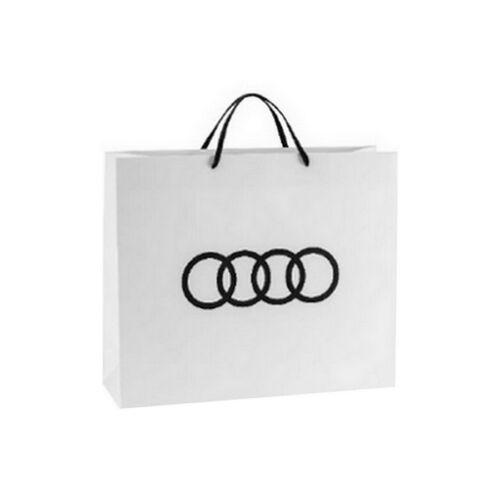 Audi Logós papír dísztasak 31x10x25 cm