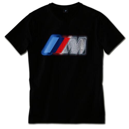 Bmw M logó férfi póló fekete