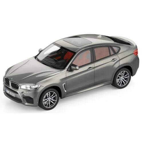 Bmw X6 M Donington Grey metallic modell autó 1:18