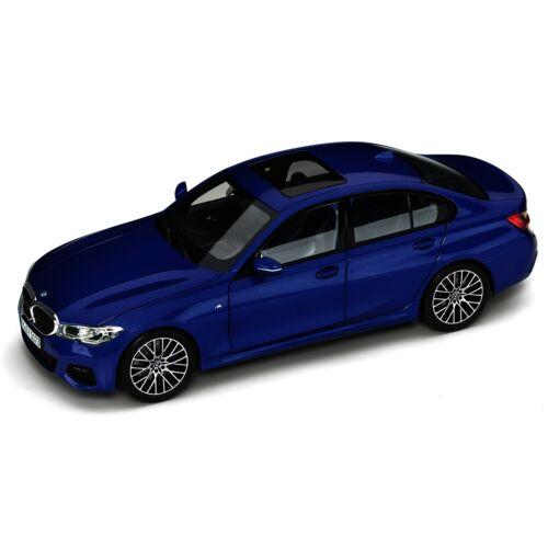 Bmw 3 Series Limousine Portimao kék modell autó 1:18