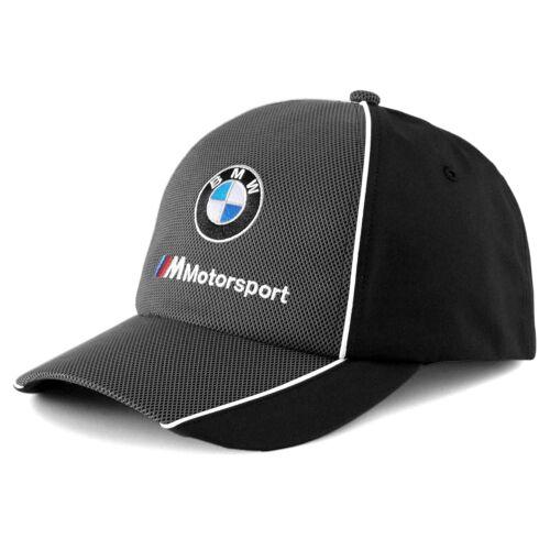 Puma BMW M Motorsport baseball sapka, fekete-szürke