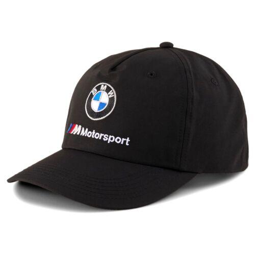 Puma BMW M Motorsport baseball sapka Heritage, fekete