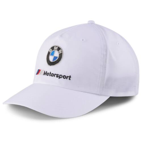 Puma BMW M Motorsport baseball sapka Heritage, fehér