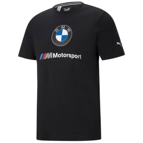 Puma BMW M Motorsport ESS Logo férfi póló, fekete