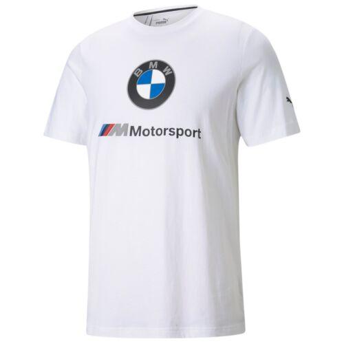 Puma BMW M Motorsport ESS Logo férfi póló, fehér