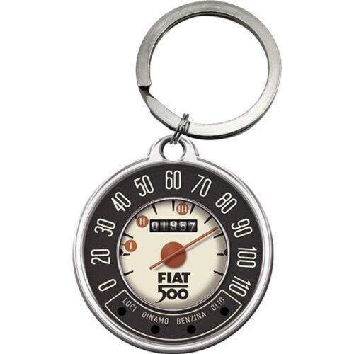 """FIAT 500 fém kulcstartó """"01957"""""""