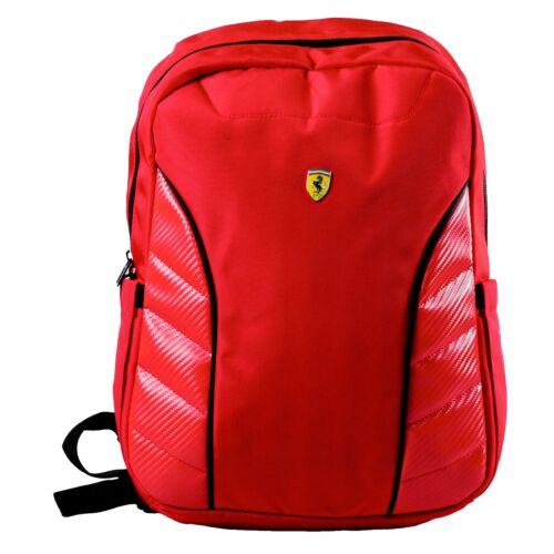 Ferrari hátizsák piros