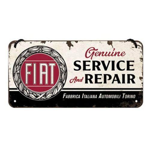"""Fiat akasztós fém tábla """"Service"""""""