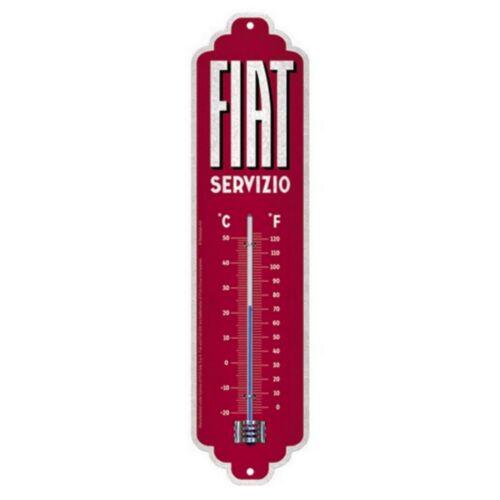"""Fiat fém hőmérő """"Servizio"""""""