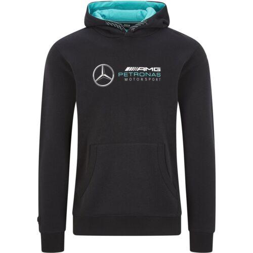 Mercedes uniszex pulóver fekete 2020