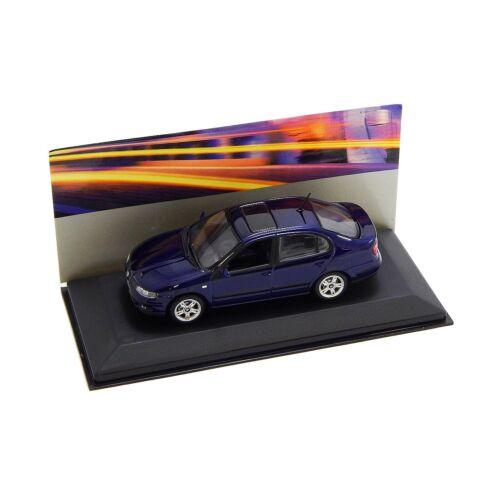 Seat Toledo 1998/2004 blue Dealer packaging modell autó 1:43