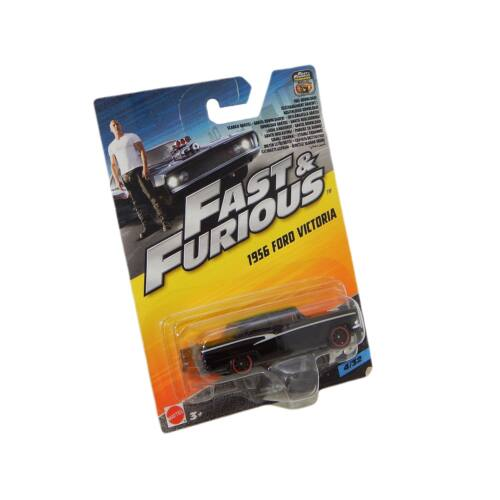 Fast & Furious 8 1956 Ford Victoria fekete autó 1:55